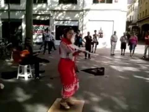 Flamenca callejera