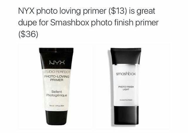 NYX photo loving primer ($13)