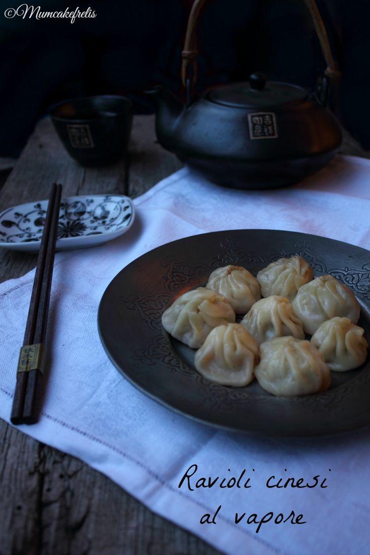 Jiaozi con carne e cavolo cinese