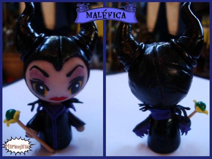 Maléfica / Maleficent chibi figure