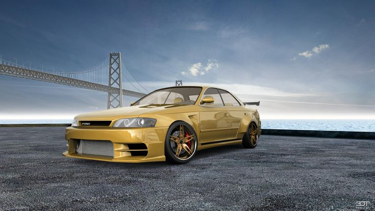 Checkout my tuning #Toyota #MarkIIX90 1996 at 3DTuning #3dtuning #tuning