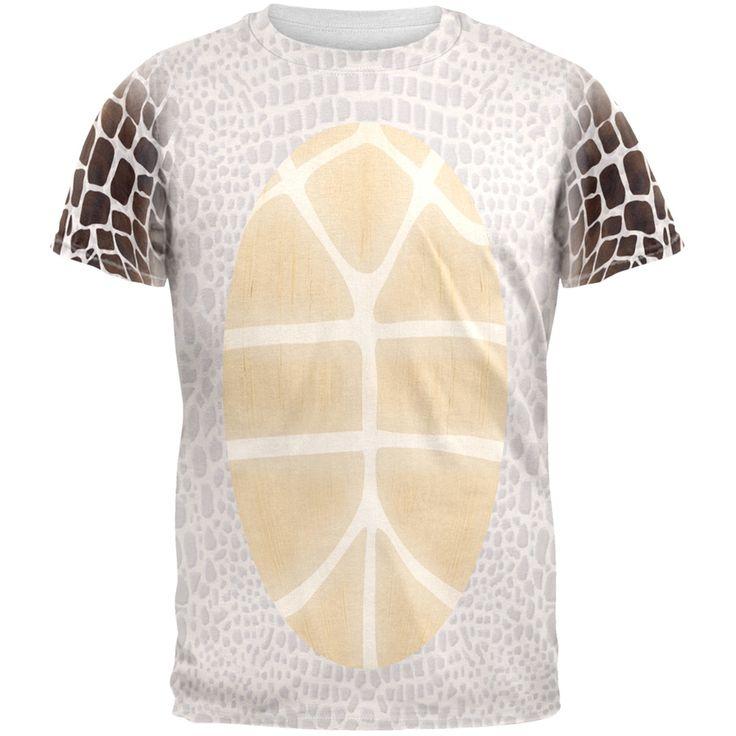 Sea Turtle Costume All Over Adult T-Shirt   AnimalWorld.com