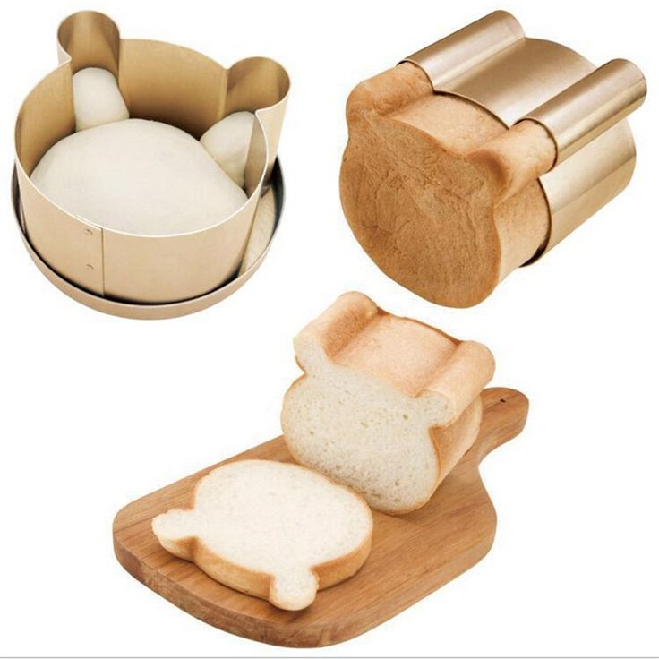 ==> [Free Shipping] Buy Best Creative new Heavy steel nonstick three-dimensional bear cake mold&6 inch pizza pan three suit toast box mold cake tools Online with LOWEST Price | 32743839821