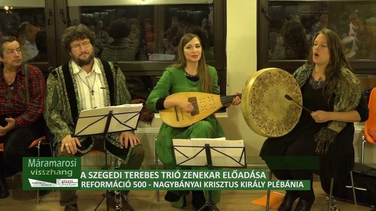 A Szegedi Terebes Trió zenekar előadása Nagybányán, a Krisztus Király pl...