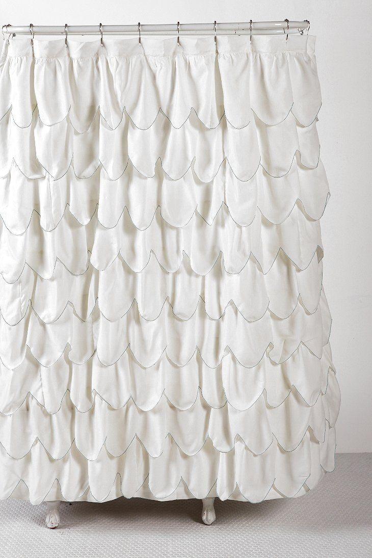 Best 25+ Ruffle shower curtains ideas on Pinterest   Rustic shower ...