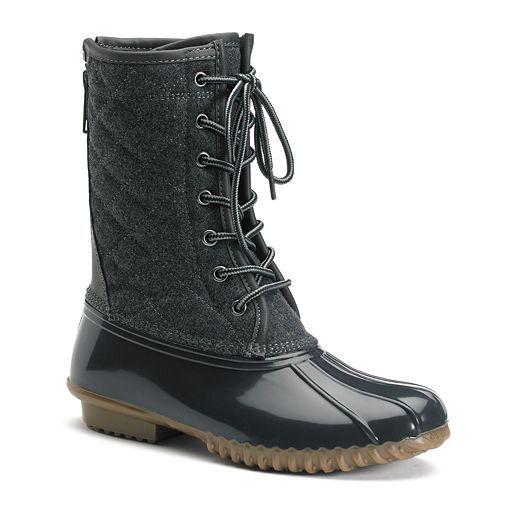 Madden Girl Frolic Women's Duck Boots