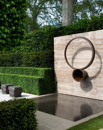 Water feature, Luciano Giubbilei, Chelsea 2009