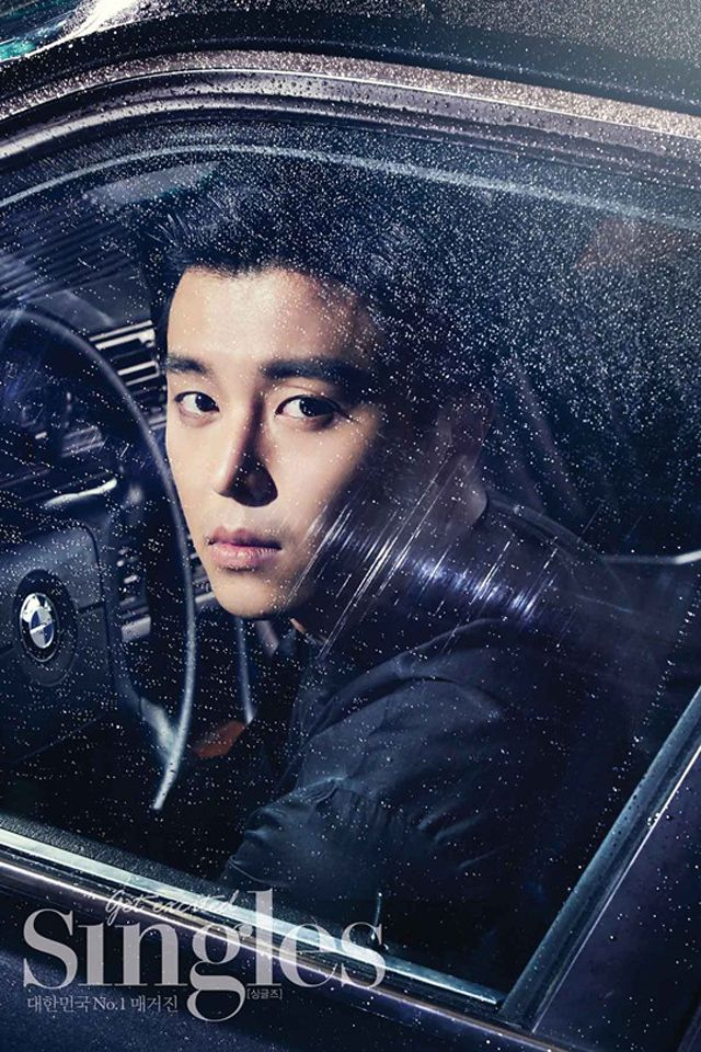 When A Man Loves' Yeon Woo Jin For Singles' July 2013 Issue : Couch Kimchi