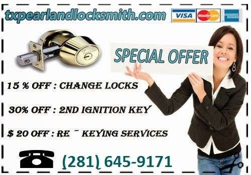 Locksmith Pearland TX supports security solutions for both small and large businesses.