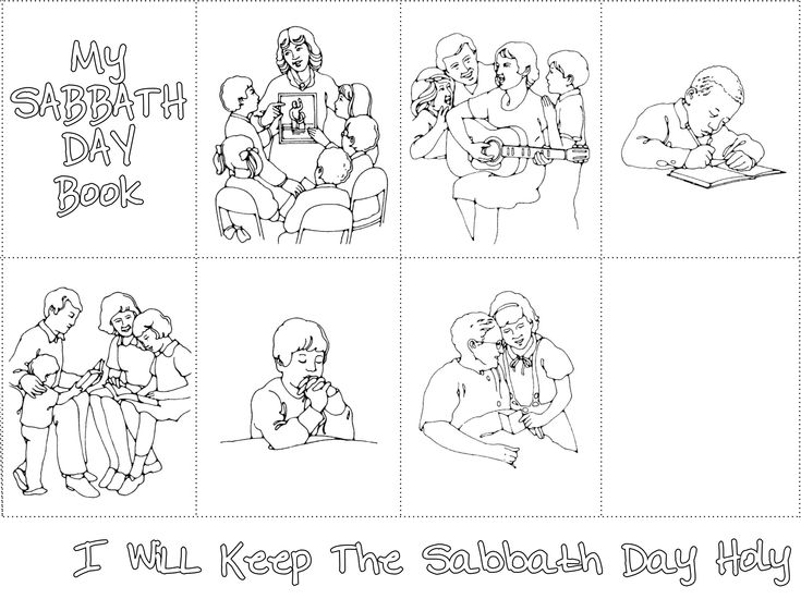 45 best LDS Primary Coloring Pages images on Pinterest ...