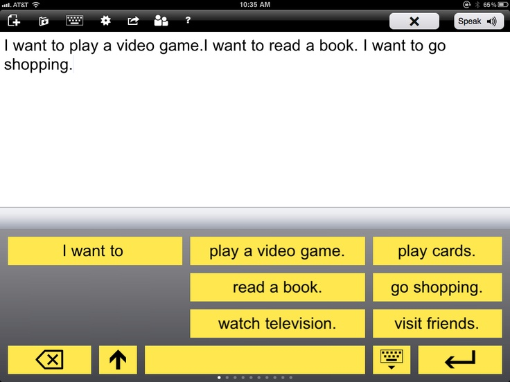 Intellipad App for the iPad Books to read, App, Go shopping