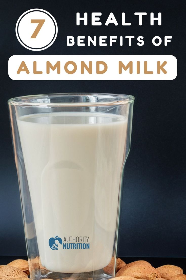 Almond milk is a popular plant milk that's rich in several healthy nutrients. This is a review of the health benefits of almond milk: https://authoritynutrition.com/benefits-of-almond-milk/
