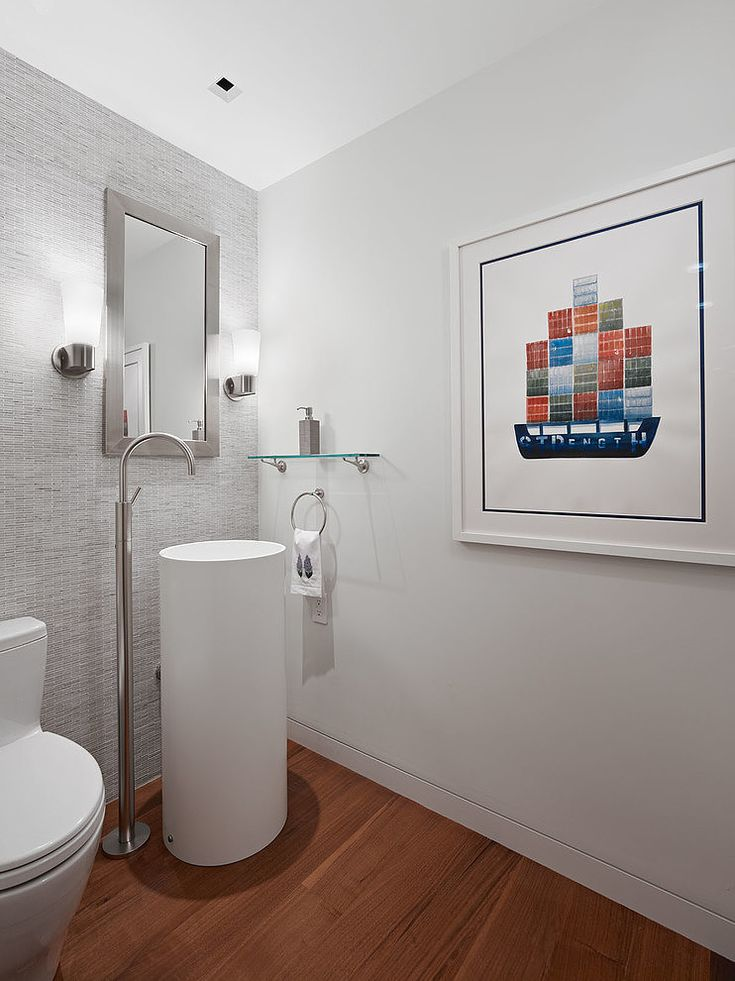 Main Floor Bathroom Ideas Part - 48: Russian Hill Apartment By Moroso Construction