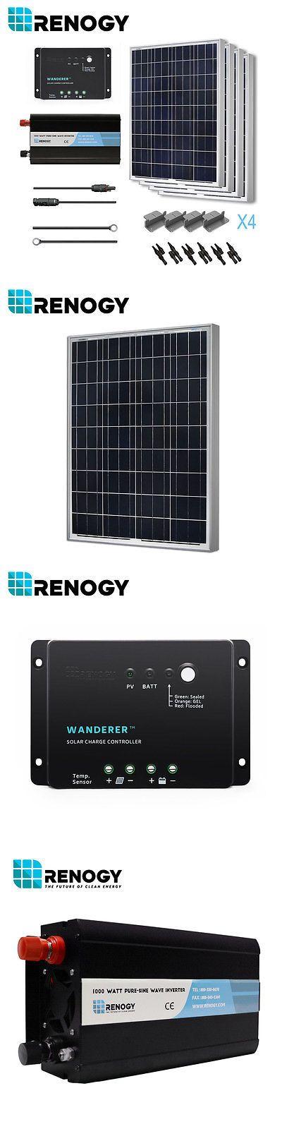 Solar Panels 41981: Renogy 400W Poly Solar Panel Battery Ready Kit Off Grid Inverter 12 Volt Rv Boat -> BUY IT NOW ONLY: $811.43 on eBay!