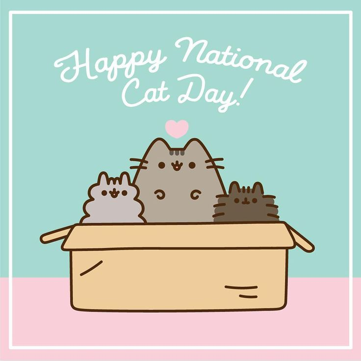 """338 gilla-markeringar, 6 kommentarer - Pusheen Box (@pusheenbox) på Instagram: """"Happy #nationalcatday! Don't forget, tomorrow is the last day to order the Fall 2017 box!"""""""