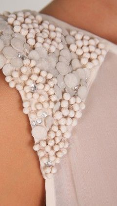 beading, Embellishment, fashion, detail, texture, bead, beads, beaded