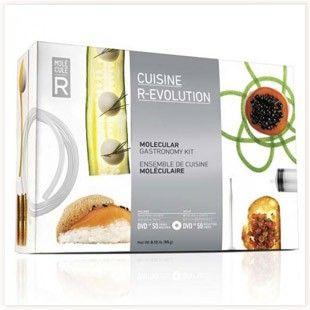 Kit Cuisine Moléculaire R-Évolution #cuisine #moleculaire #revolution