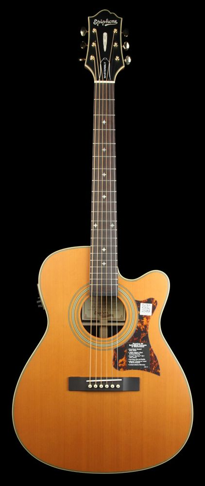 EPIPHONE EF-500RCCE Acoustic/Electric Natural Satin | The Music Zoo
