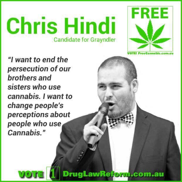 Chris Hindi - candidate for Grayndler NSW