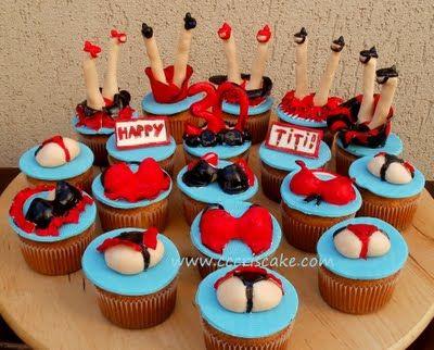 Torturi artistice: Another sexy cupcakes