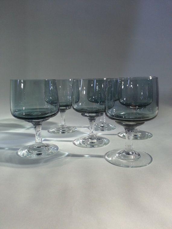 Scandinavian Wine Glass Vinglas Claret Atlantic.. Made by Holmegaard.. Designed by Per Lutken 1962, €85.00