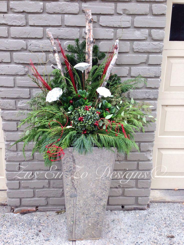 Winter planter | Winter planters | Pinterest | Winter