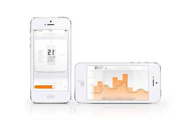 Netatmo S+ARCK - Termostato by Philippe Starck Mostra i dati e la cronologia di riscaldamento in modo chiaro  Monitora il consumo energetico. L'app salva costantemente la temperatura degli interni e le fasi attive del termostato/calorifero/termosifone. ...