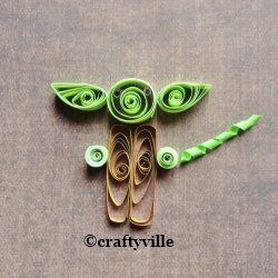 :D Yoda papercrafts are very popular this days #crafttuts+ #crafttutorials