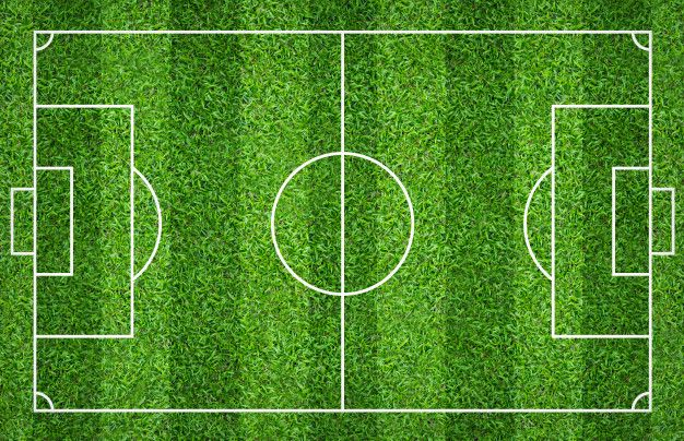 Football Field Or Soccer Field For Background Green Lawn Court For Create Game With Images Green Lawn Black Marble Background Field