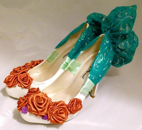 Disney Ariel Wedding Shoes