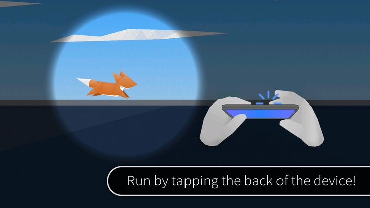 Fast like a Fox is a game involving a running game when you tap the back of your device