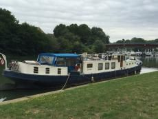 Boats for sale France, boats for sale, used boat sales, Barges For Sale Roomy and comfortable 25m Klipper barge - Apollo Duck