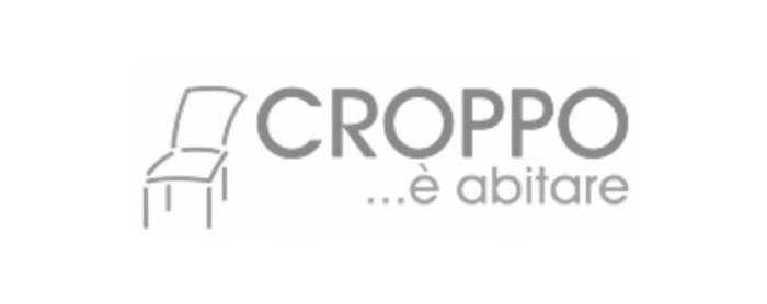 Il logo di Croppo Allestimenti, azienda di Roma specializzata nel nolleggio di arredi per ogni tipologia di evento.
