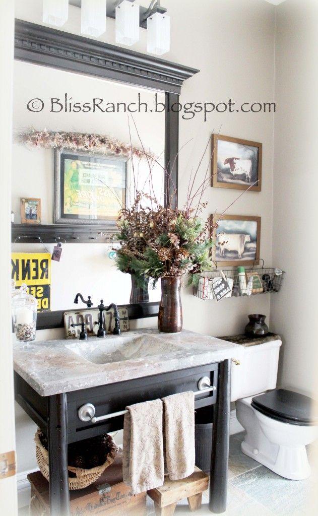 Rustic Chic Bathroom 156 best rustic bathrooms images on pinterest | bathroom ideas