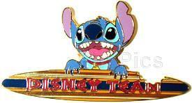 Disney's Lilo & Stitch Surfboard Cast Member Pin