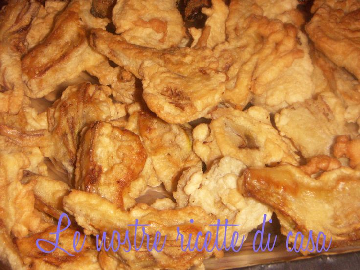 CARCIOFI IN PASTELLA: Home, Our Recipes, Our Ricetto, Questa Pastella, The Taste, Our, Ricetta Contorno, Pastella Saporita, Sunday