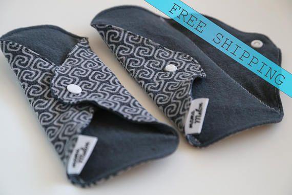 2-9 Bamboo Thin Cloth Pad Adult Incontinence Pad Thin