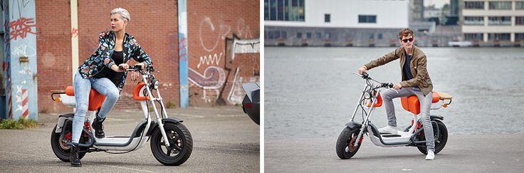 Deze volledig elektrische scooter steelt de show op de Dutch Design Week