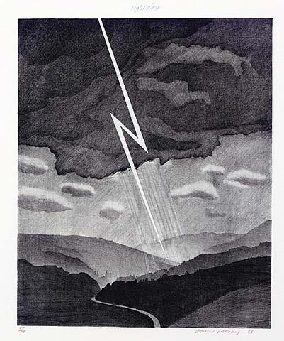David Hockney, Lightning