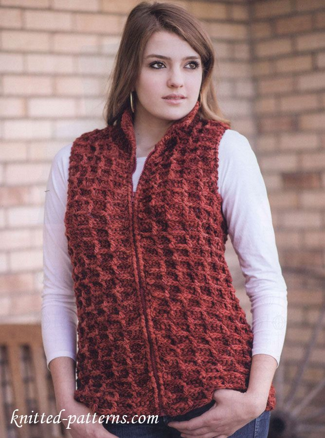 Petite hair women women for without vest knitted patterns free