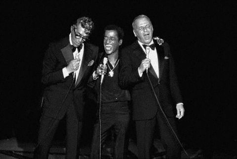 1978, May 20; SHARE Inc. Boomtown Benefit Santa Monica Civic Auditorium. Los Angeles, CA. Frank Sinatra, Dean Martin & Sammy Davis Jr.