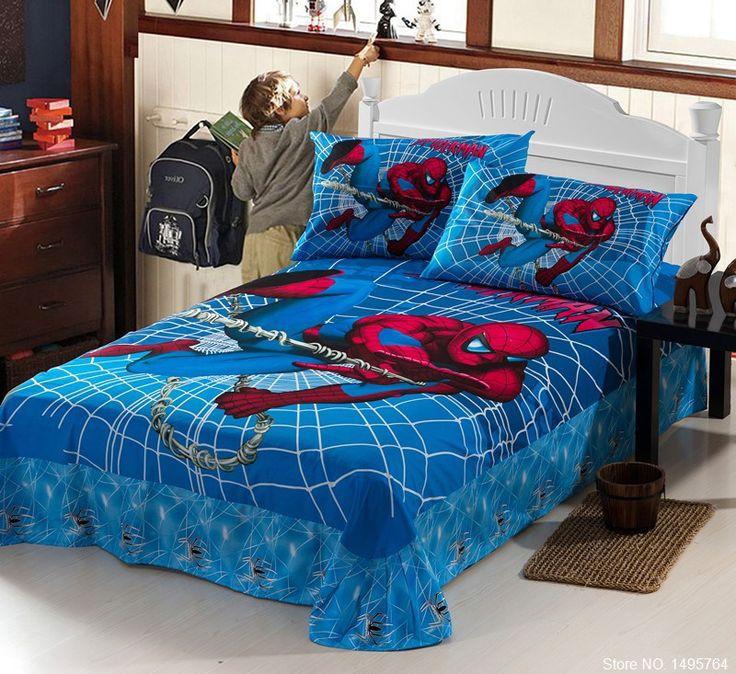 les 56 meilleures images propos de parure de lit film sur pinterest textiles spiderman et. Black Bedroom Furniture Sets. Home Design Ideas
