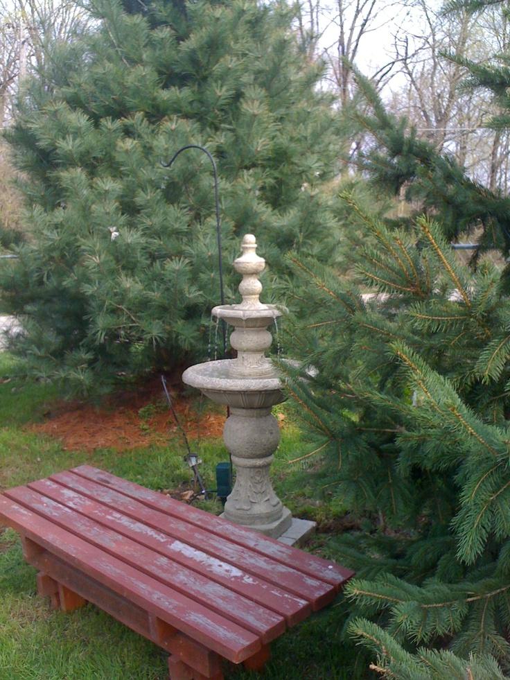 Japanese Garden Bench.