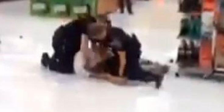 Cops Filmed Beating Man During Arrest At Walmart