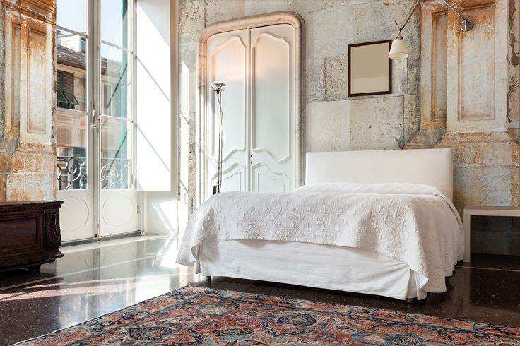 """Looking for a way to decorate a bedroom wall? Get ready to take a journey to the deepest soul of Sicily with """"Ercole"""" wallpaper.  #Tecnografica #ItalianWallcoverings"""
