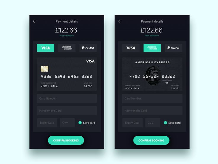Payment for flight app