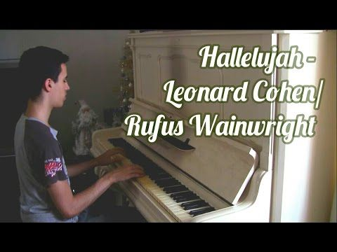 Leonard Cohen/Rufus Wainwright - Hallelujah (Piano Music Video Cover by ELIE)