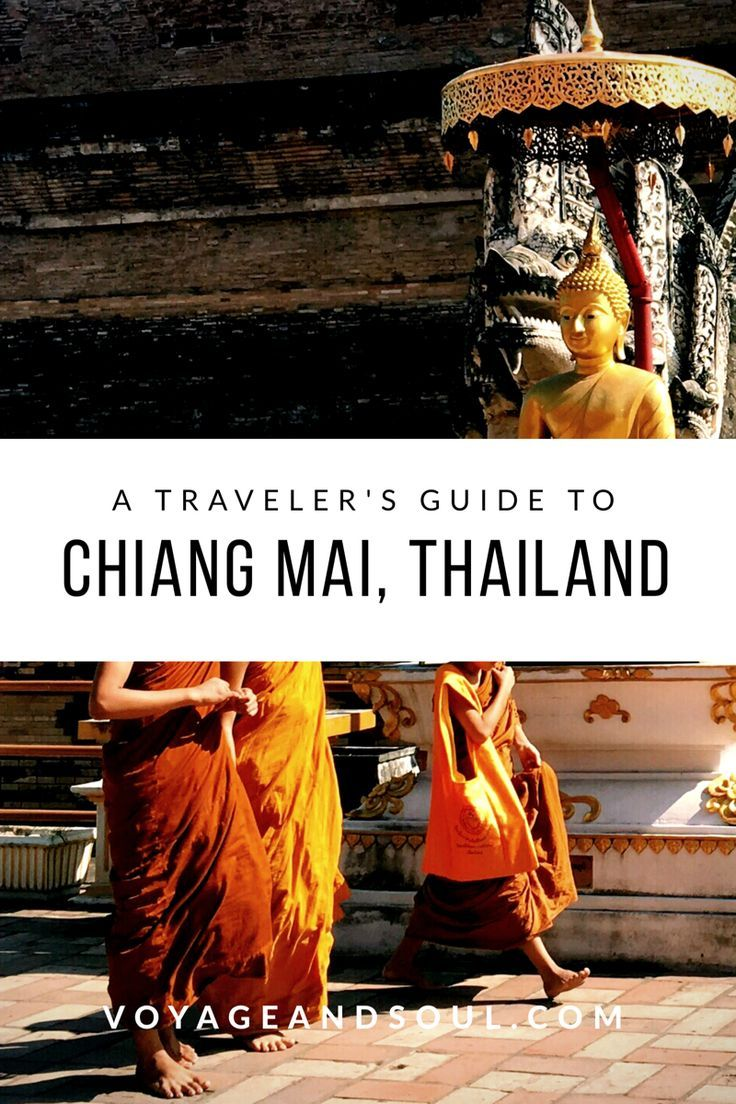 A Traveler's Guide to Chiang Mai, Thailand // Here is a list of must do experiences to have in this spectacular city! | voyageandsoul.com