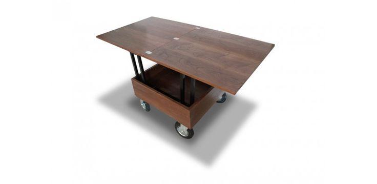 25 beste idee n over table relevable op pinterest - Petite table relevable ...