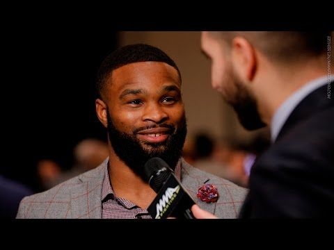 MMAFightingonSBN: Tyron Woodley makes case for welterweight title shot following Conor McGregor loss
